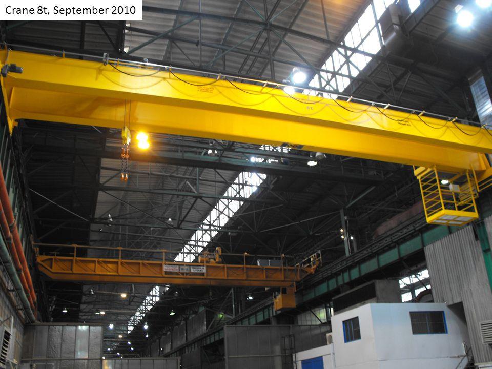 Crane 8t, September 2010