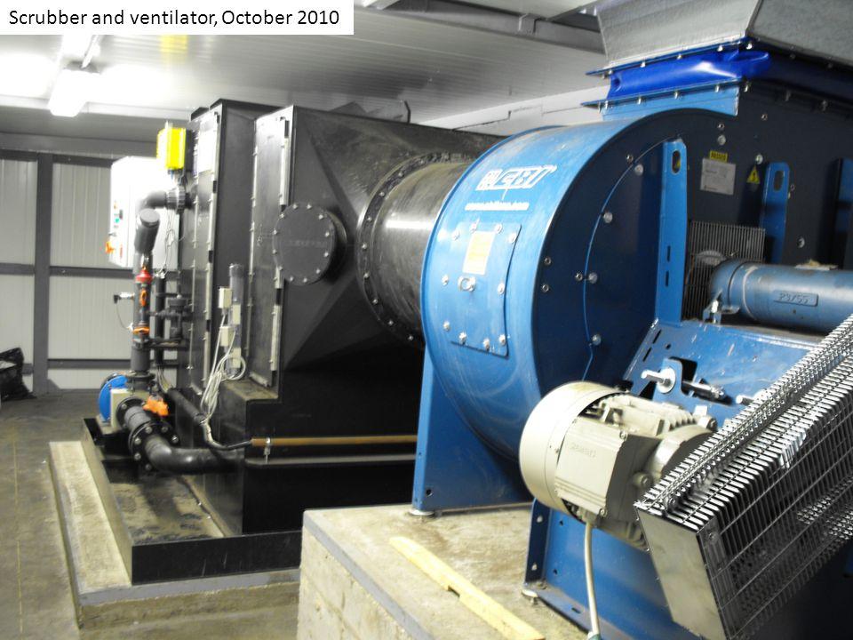 Scrubber and ventilator, October 2010