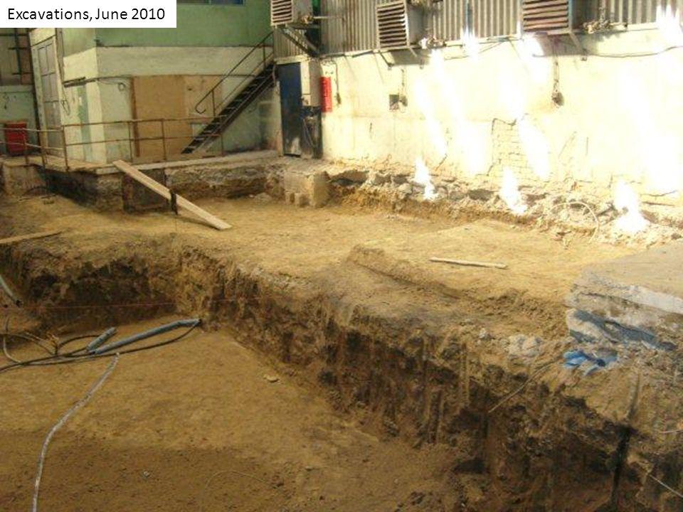 Excavations, June 2010