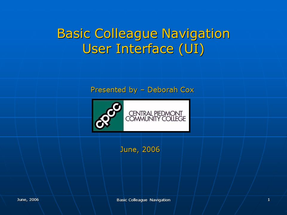 Basic Colleague Navigation 2 Datatel - is the name of the company Datatel - is the name of the company Colleague - is the name of the software (a product of Datatel) Colleague - is the name of the software (a product of Datatel) WebAdvisor – is the web module of Colleague WebAdvisor – is the web module of Colleague ST (Student Module) is an application within Colleague ST (Student Module) is an application within Colleague Any student needs – found in this moduleAny student needs – found in this module Admissions Admissions Registration Registration Student Records Student Records Financial Aid Financial Aid Graduation Graduation Etc.