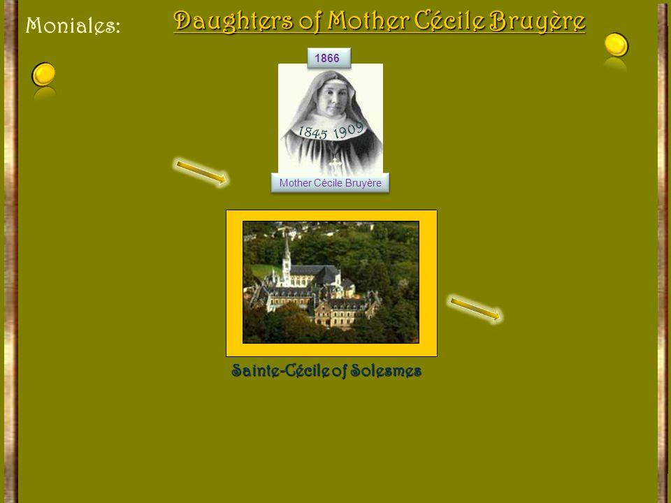 The Successors Dom Guéranger 1833-1875 1833-1875 Dom Charles Couturier 1875-1890 1875-1890 Dom Paul Delatte 1890-1921 1890-1921 Dom Germain Cozien 192