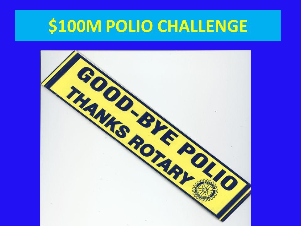 $100M POLIO CHALLENGE