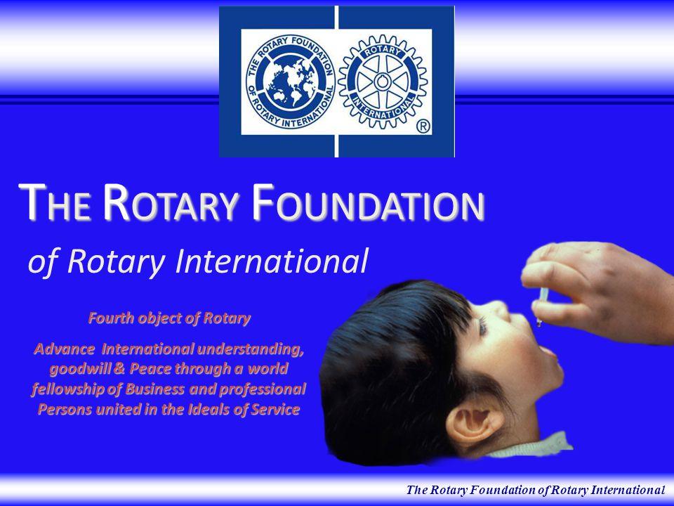 Educational Programs Polio Plus Humanitarian Programs