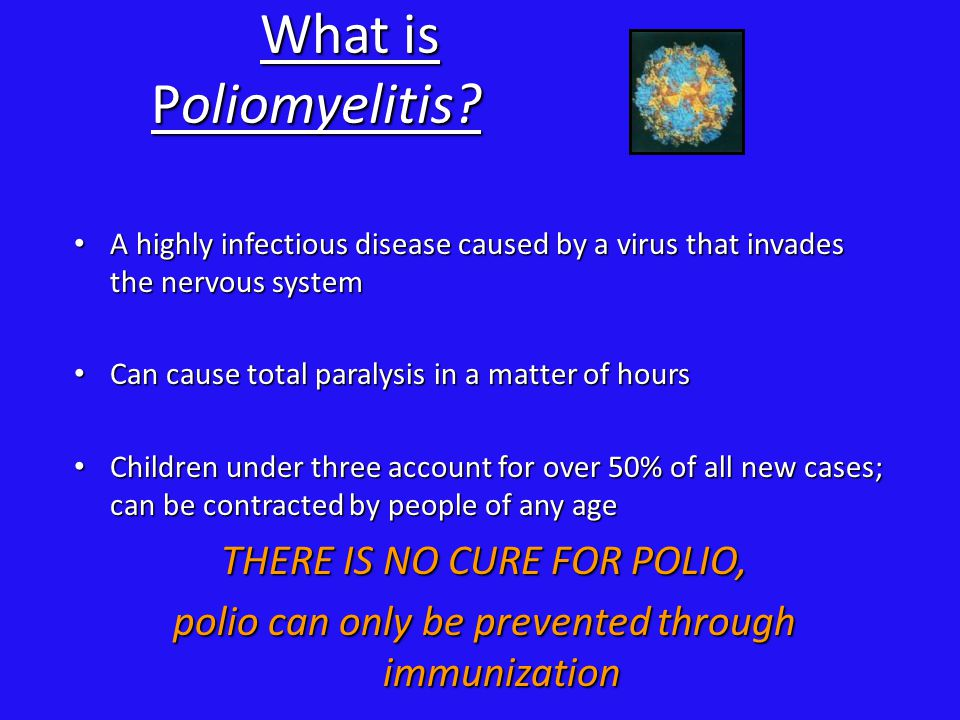 What is Polio Paralysis.