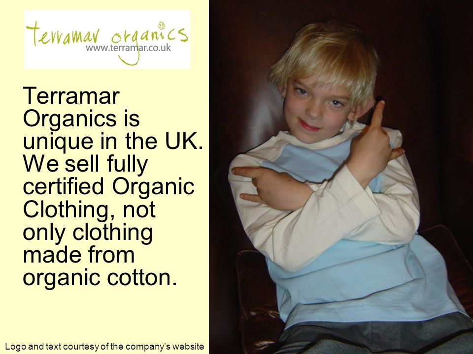 Terramar Organics is unique in the UK.