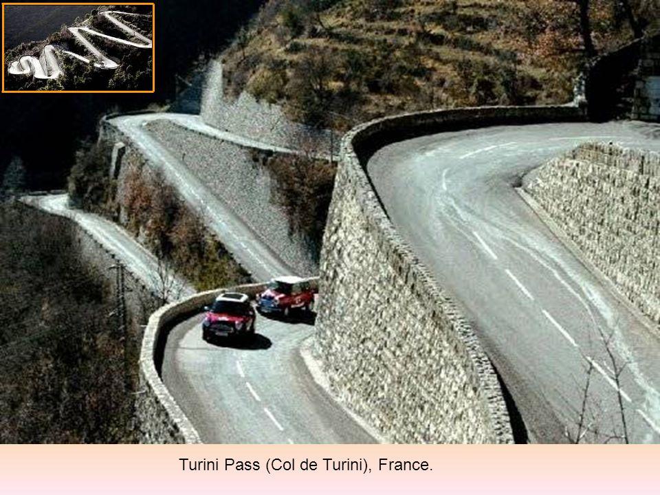 Turini Pass (Col de Turini), France.