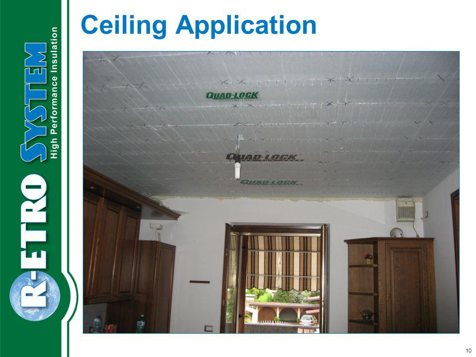 10 Ceiling Application