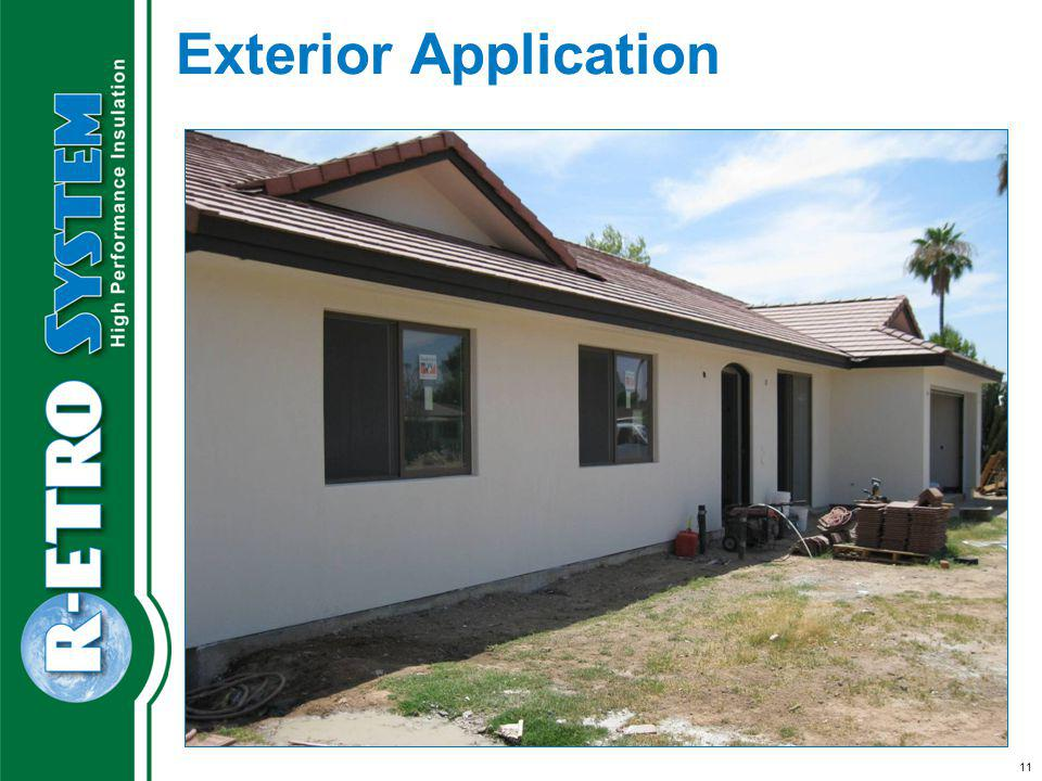 11 Exterior Application