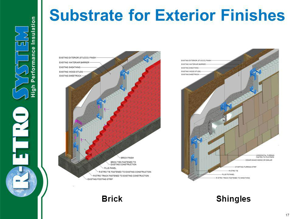 Substrate for Exterior Finishes BrickShingles 17
