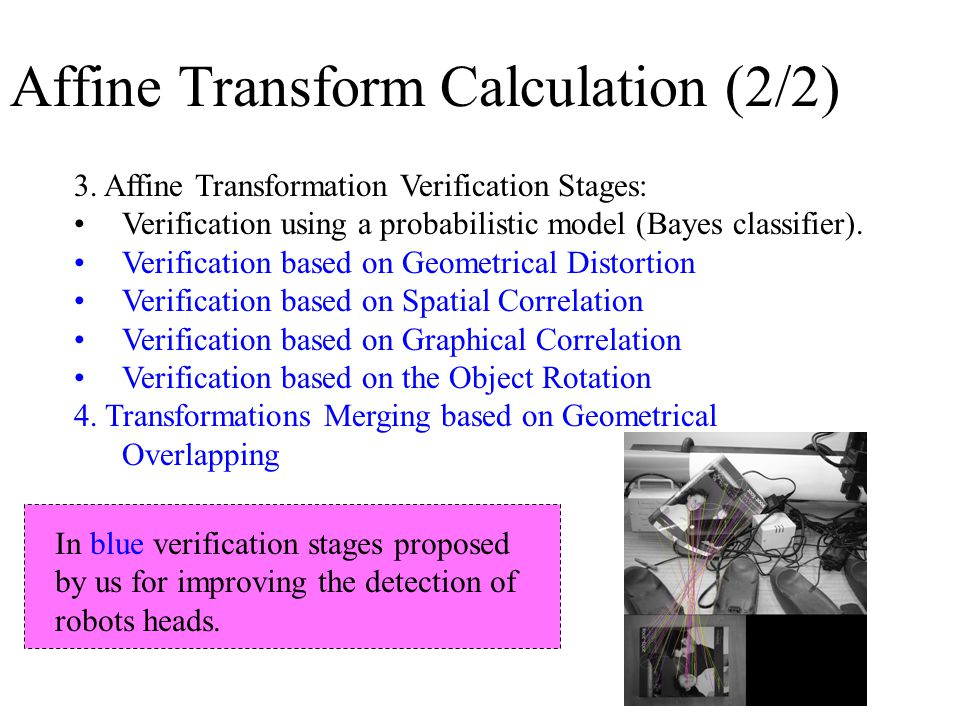 Affine Transform Calculation (2/2) 3.