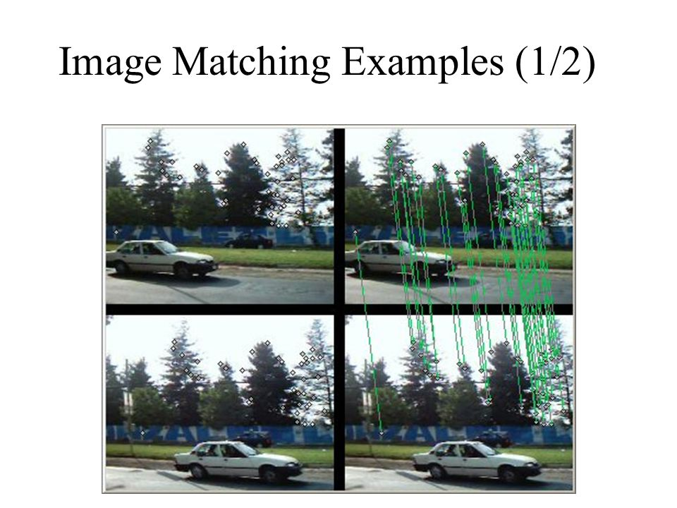 Image Matching Examples (1/2)