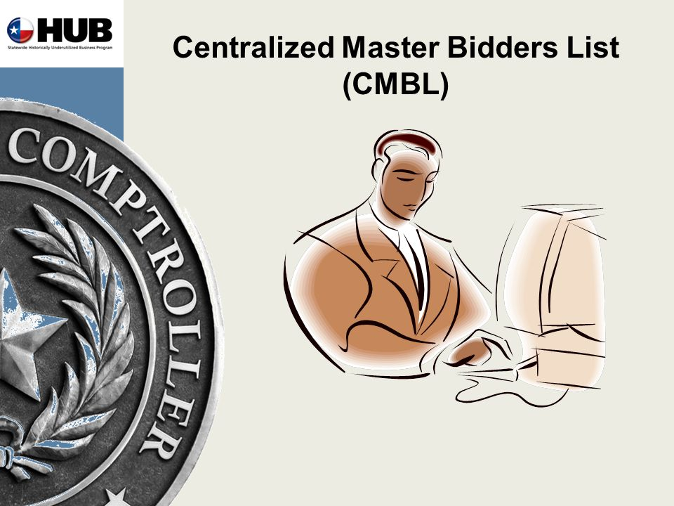 Centralized Master Bidders List (CMBL)