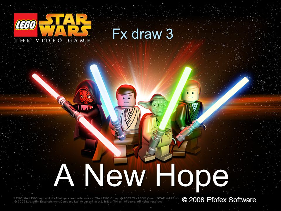 Fx draw 3 A New Hope © 2008 Efofex Software