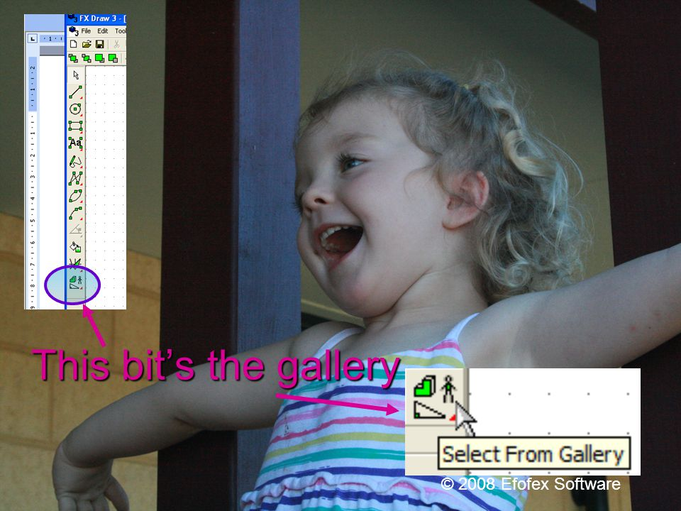 Galleries – the fun part! © 2008 Efofex Software