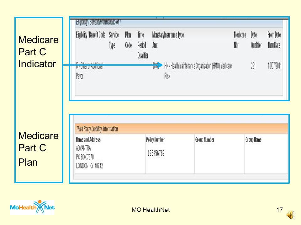 Spenddown Indicator Spenddown Amount Medicare Part A Medicare Part B QMB MO HealthNet16