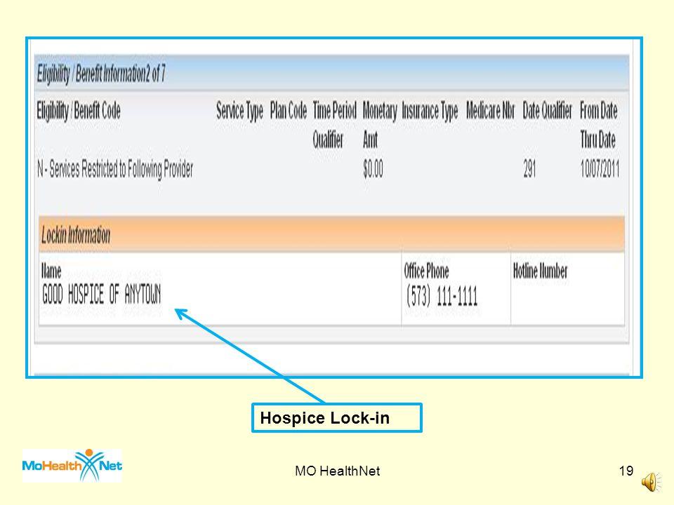 Medicare Part C Indicator Medicare Part C Plan MO HealthNet18