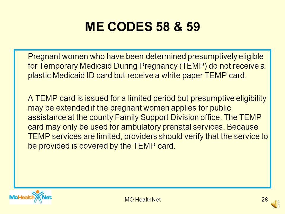 TEMP Eligibility Card MO HealthNet27