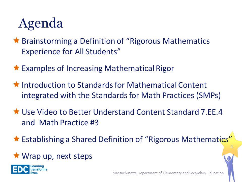 Increasing the Mathematical Rigor Given a rectangle with a fixed perimeter (i.e.