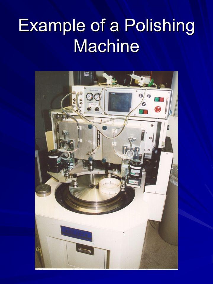 Example of a Polishing Machine