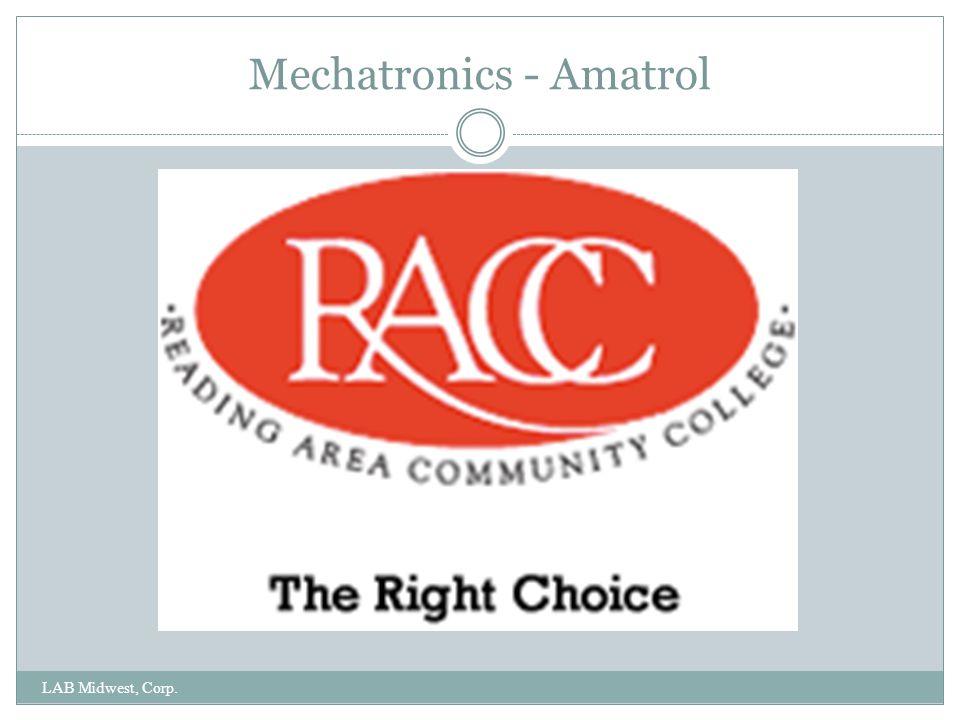 Amatrol Mechatronics LAB Midwest, Corp. ORIENTATION-PROCESSING STATION