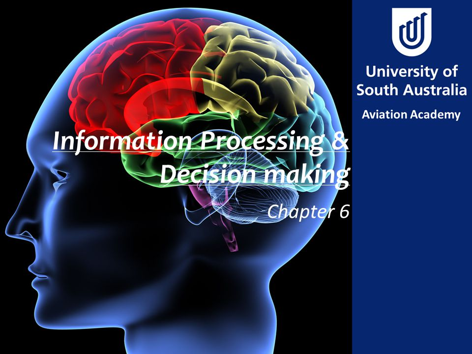 Information Processing & Decision making Chapter 6