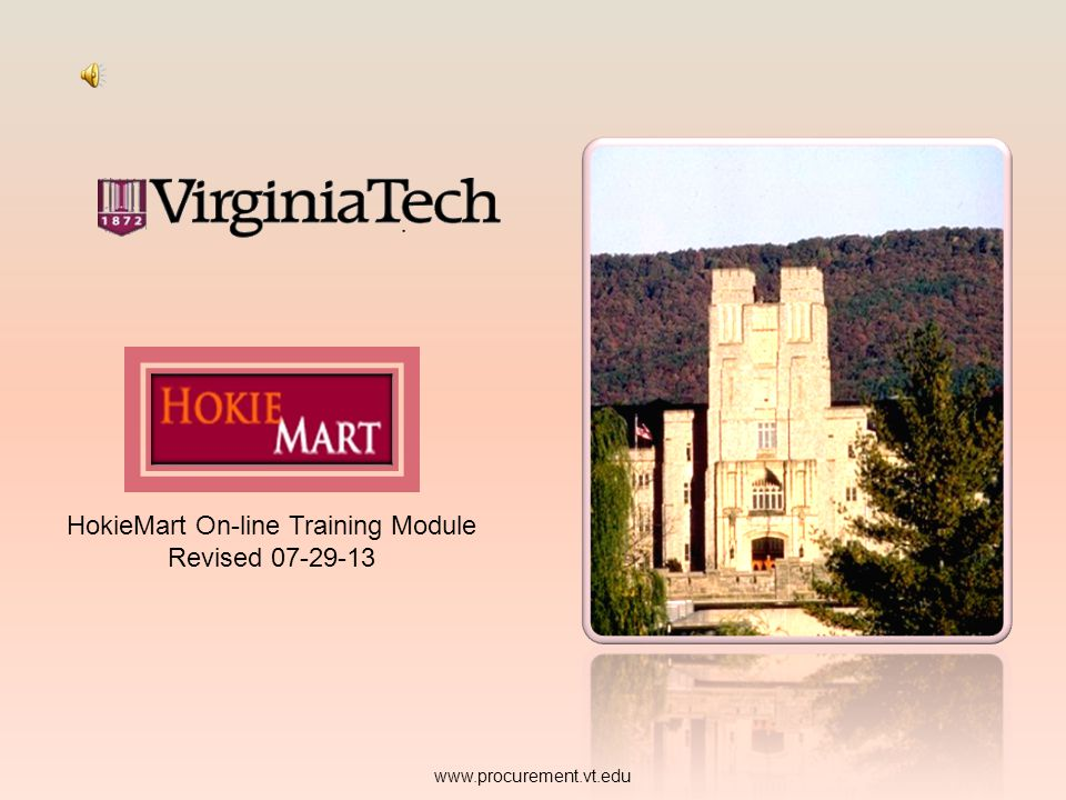 PURCHASING: CUSTOM FIELDS - CODES For each field Edit is available. www.procurement.vt.edu Edit