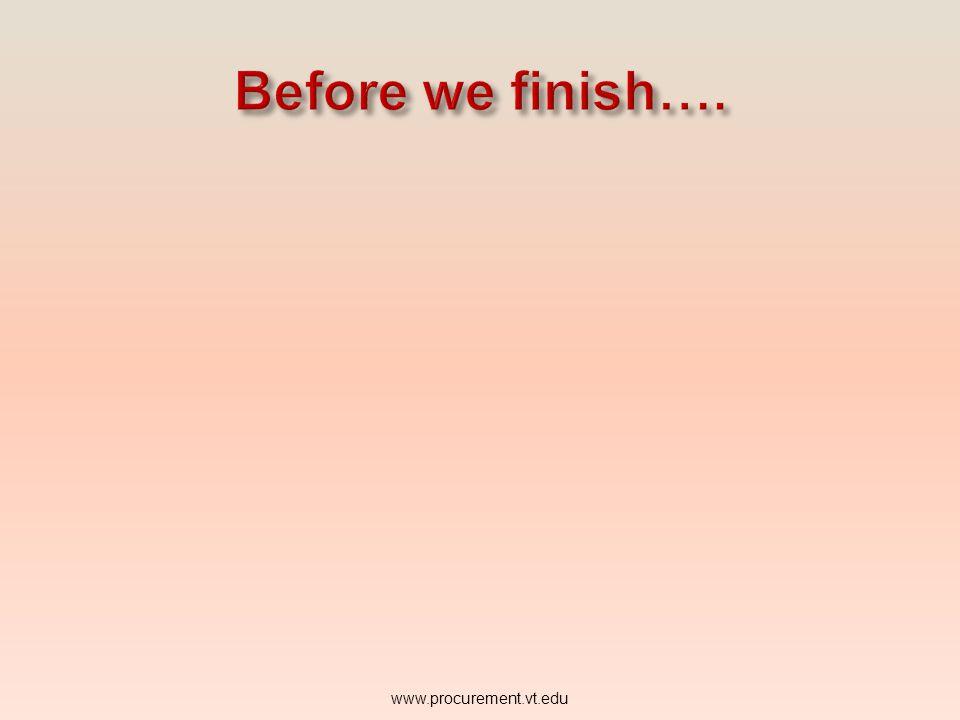 TO CREATE A BILL TO ADDRESS IN HOKIEMART Click www.procurement.vt.edu Save