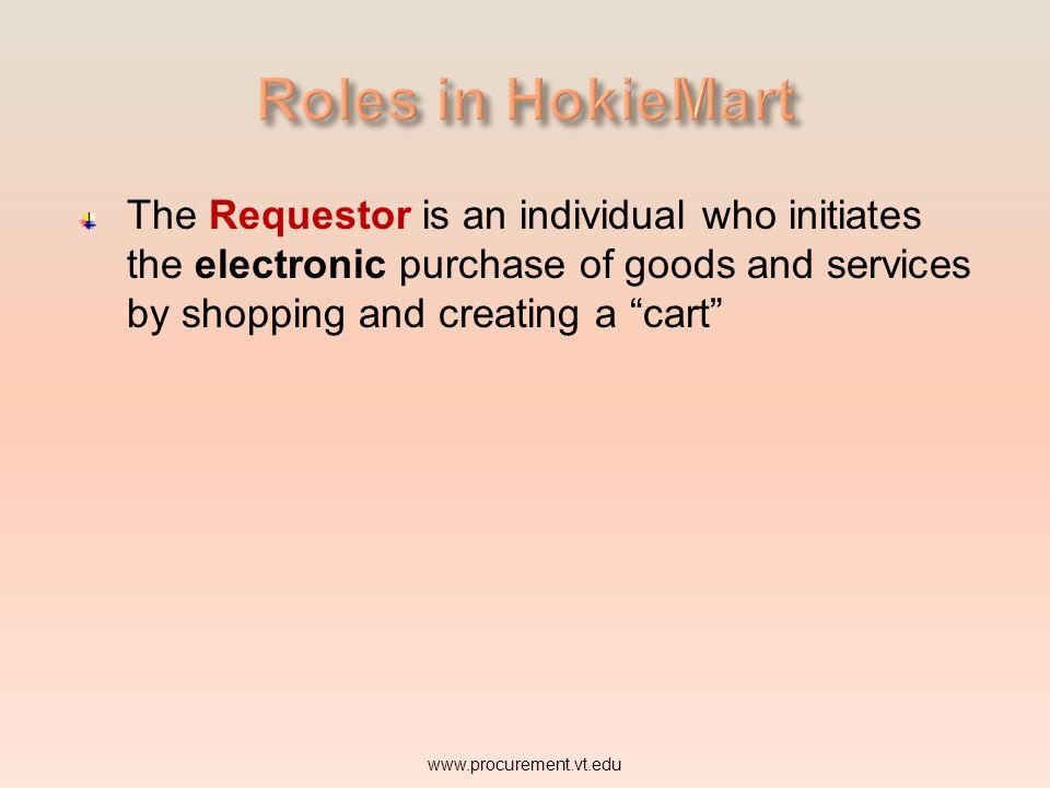 Requestor www.procurement.vt.edu