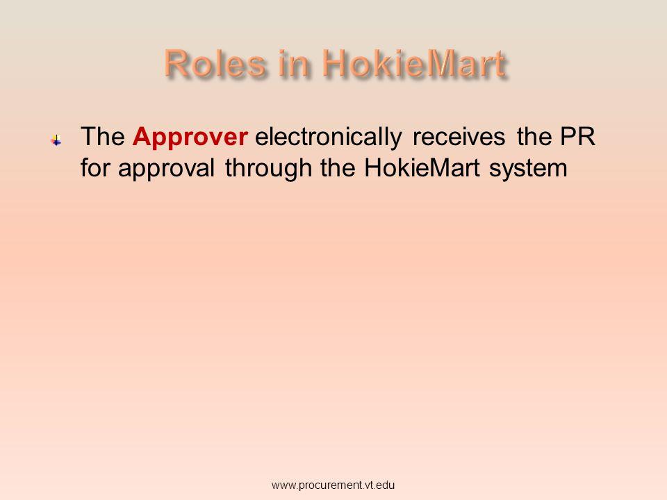 Approver www.procurement.vt.edu