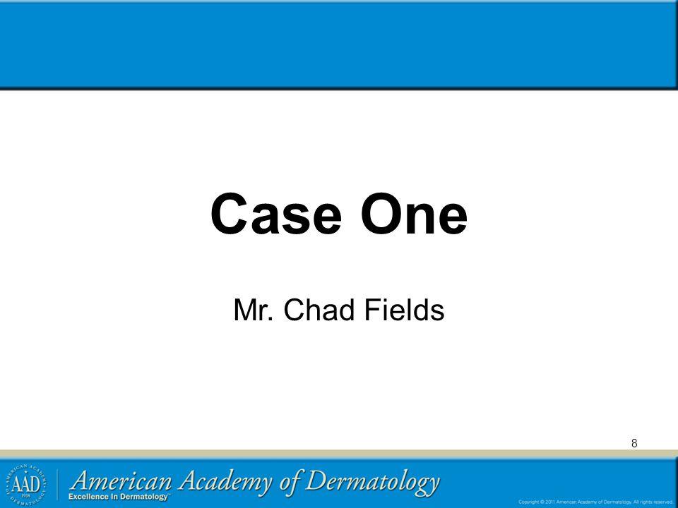Case One: History HPI: Mr.