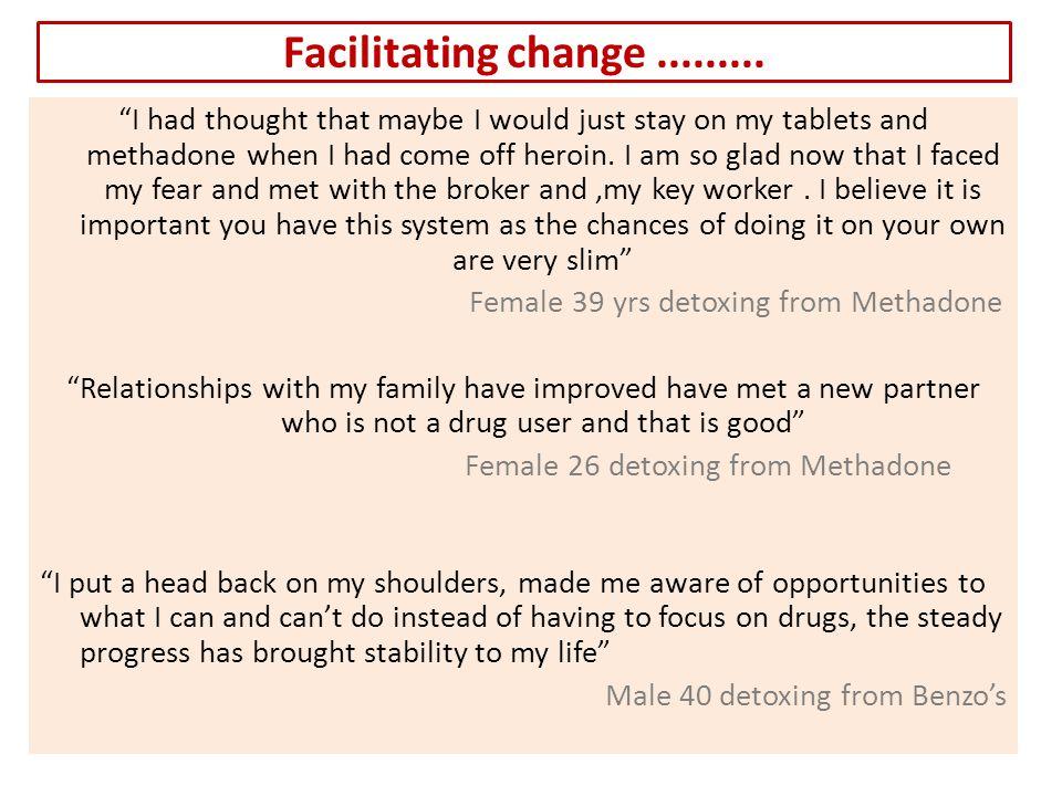 Facilitating change.........