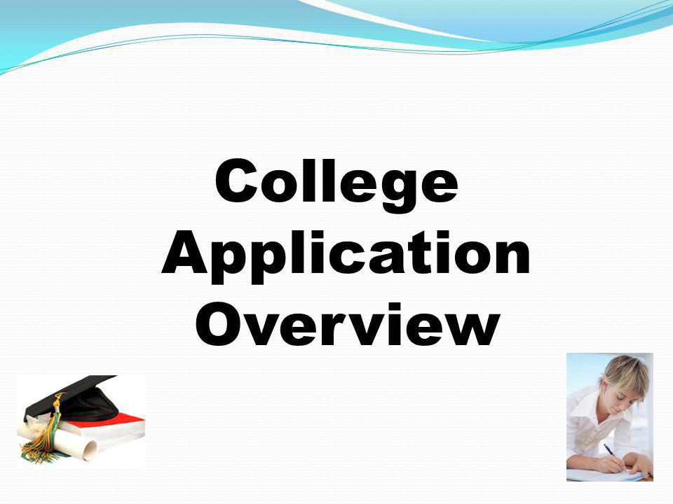 College Application Overview