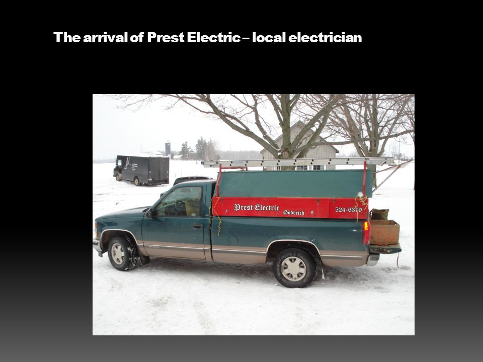The arrival of Prest Electric – local electrician