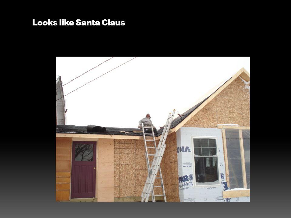 Looks like Santa Claus