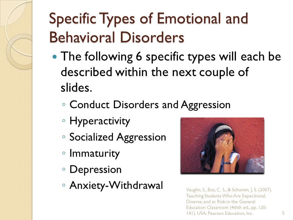 Conduct Disorders and Aggression Children usually have little concern for others and repeatedly violate the basic rights of others and the rules of society.