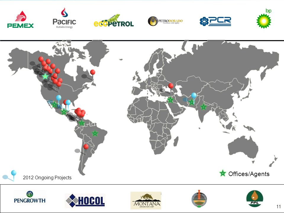 Offices/Agents 2012 Ongoing Projects 11
