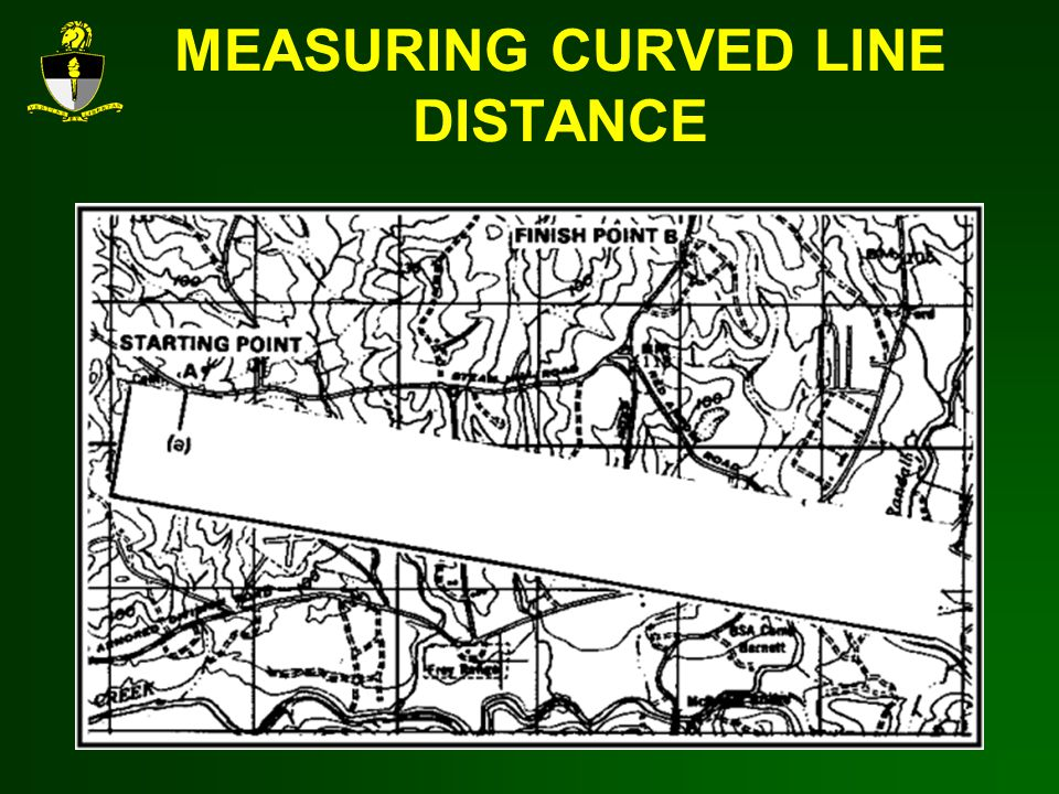 MEASURING CURVED LINE DISTANCE