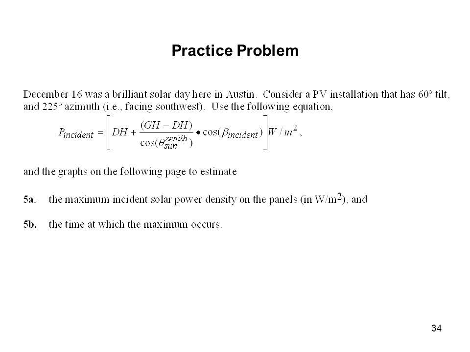 34 Practice Problem
