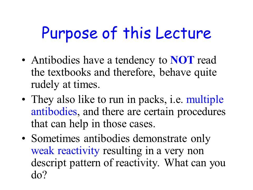 Weak, Non Descript Reactions How can weak reactions be enhanced.