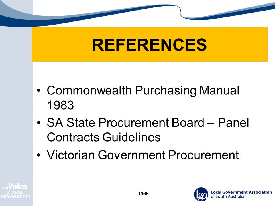 the nature, description and details of the goods or service that may be purchased under the panel arrangement; the period for which the panel arrangement is in force; a list of potential user Councils; price review mechanisms as appropriate; Reporting and supplier performance (KPIs); insurance and security requirements; standard contractual terms and conditions including limitation of liability, confidentiality, termination for default and convenience ; dispute resolution etc ; the secondary procurement processes for buying from the panel; and any special conditions.