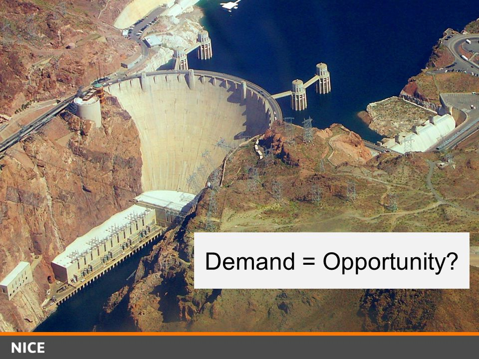 Demand = Opportunity