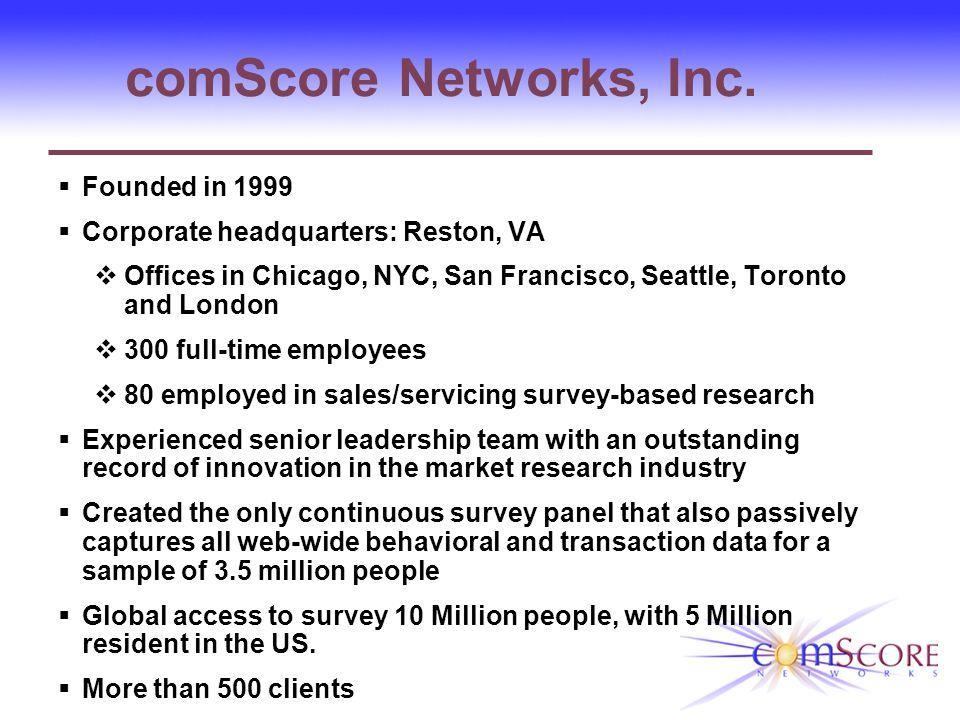 comScore Networks, Inc.