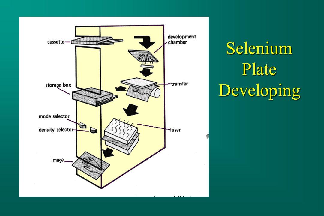 Selenium Plate Developing