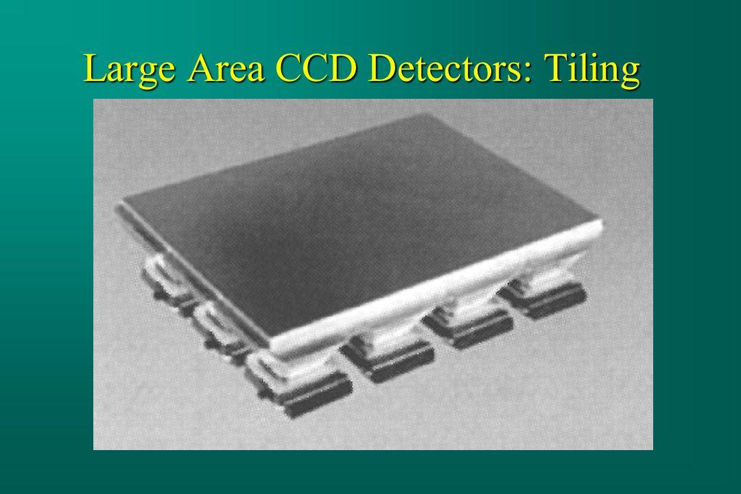 Large Area CCD Detectors: Tiling
