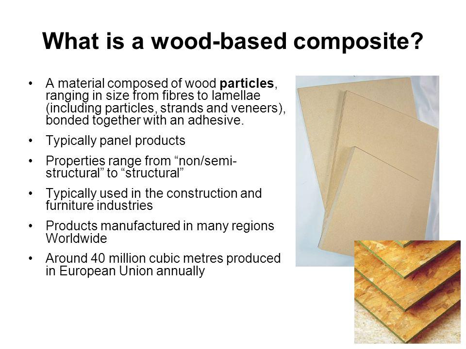 Properties & performance of wood-based panels