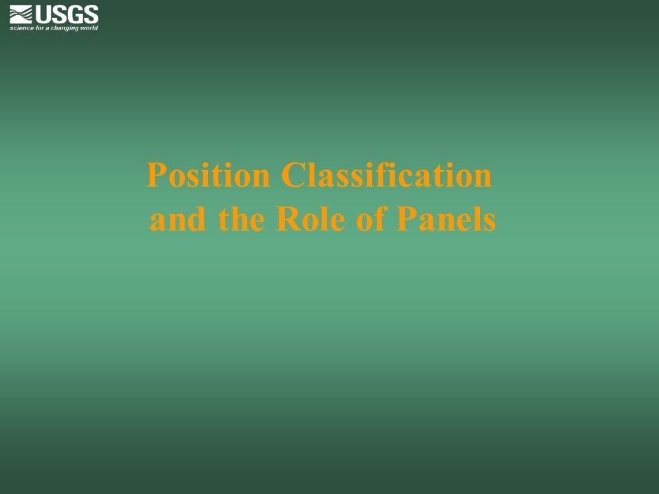 The Classification Act of 1949, As Amended Provides for: Equal pay for equal work Rates of compensation proportional to difficulty, responsibility, and qualification requirements Positions grouped by series based on duties, responsibilities, and qualification requirements