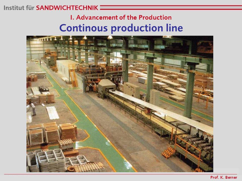 Prof. K. Berner I. Advancement of the Production Damages