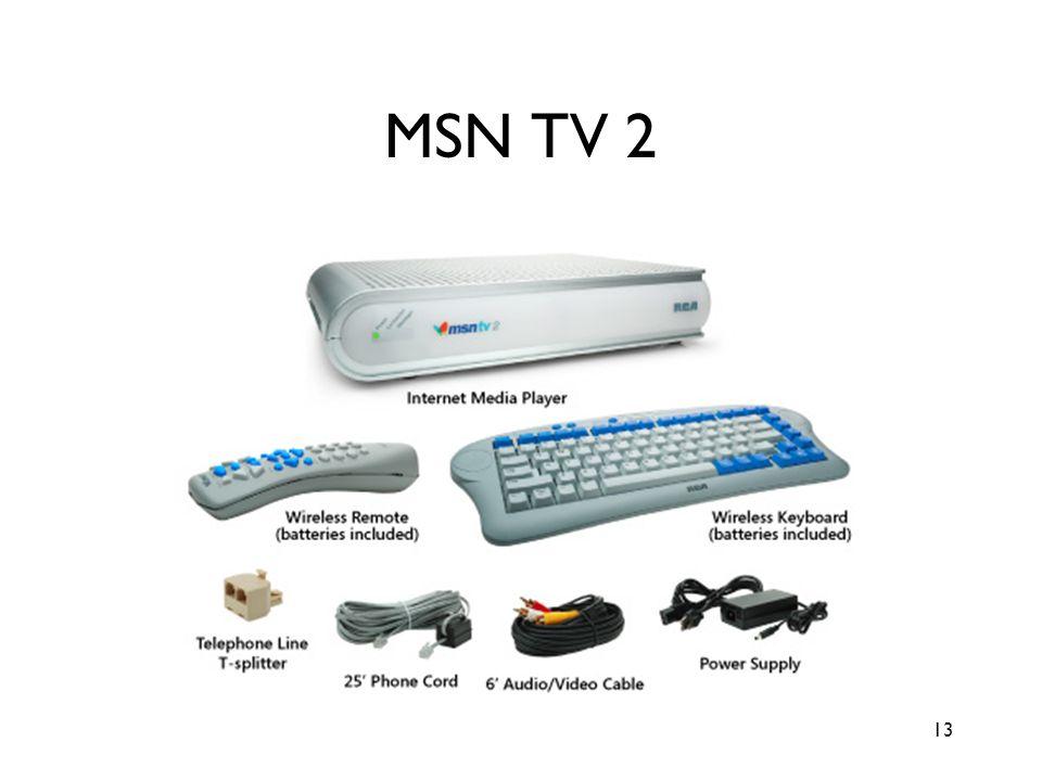 13 MSN TV 2