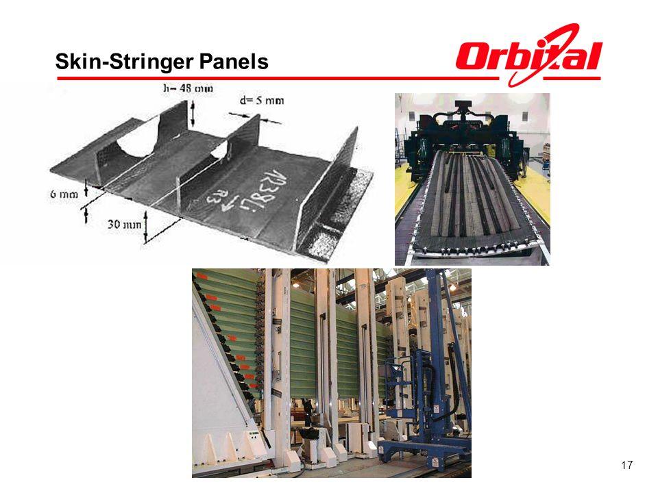 17 Skin-Stringer Panels