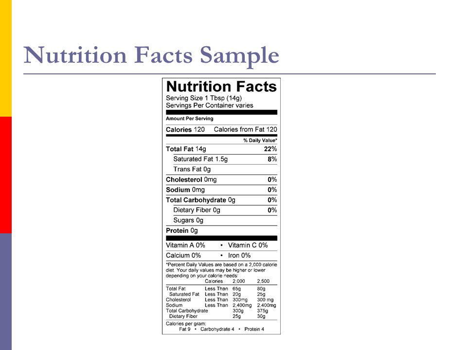Health Claims A food must meet criteria preapproved by the FDA to carry a health claim.